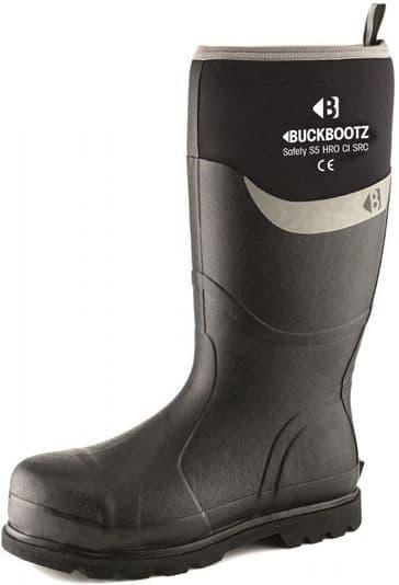 Buckler Boots BBZ6000BK Safety Neoprene Buckbootz (Black)