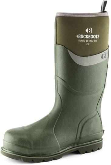 Buckler Boots BBZ6000GR Safety Neoprene Buckbootz (Green)