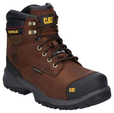 Caterpillar CAT Spiro Work Safety Boots (Dark Brown)