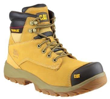 Caterpillar CAT Spiro Work Safety Boots (Honey)