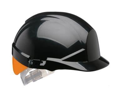 Centurion Reflex Hard Hat (Black/Orange)