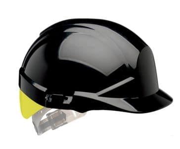 Centurion Reflex Hard Hat (Black/Yellow)