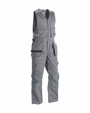 "CLEARANCE Blaklader 2652 Sleeveless Overalls (Grey) C154 38""W 34""L"