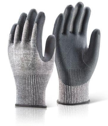 Click Kutstop Micro Foam Nitrile Cut 5 Gloves KS5