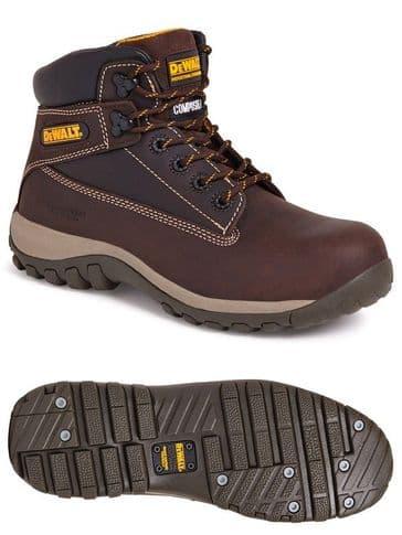 Dewalt Hammer Safety Boot Brown