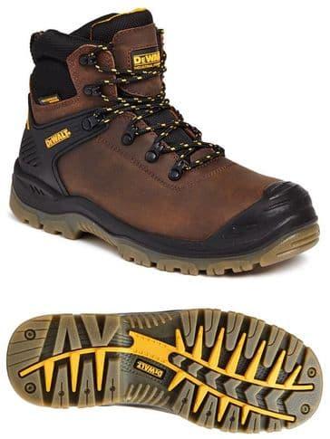 Dewalt Newark Safety Boot (Brown)