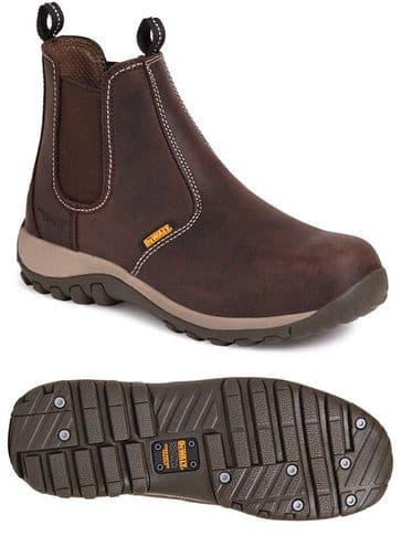 Dewalt Radial Dealer Safety Boot Brown
