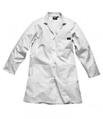 Dickies WD056 Redhawk Warehouse Coat (White)