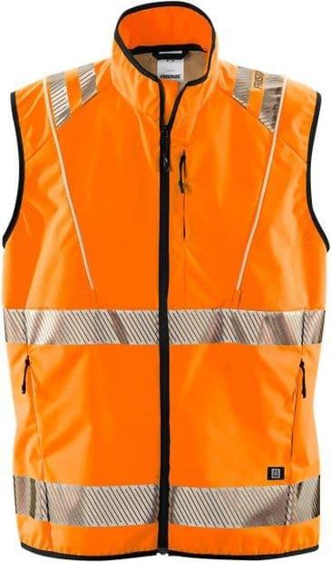 Fristads 5012 LPR High Vis Led Waistcoat Class 2 ( Hi-Vis Orange )