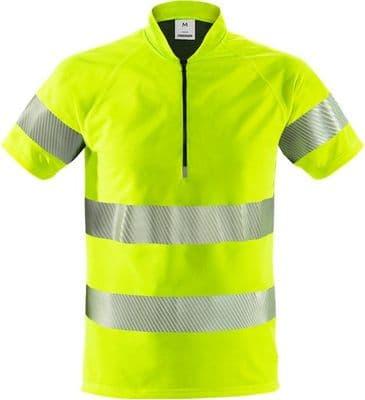 Fristads 7117 TCY High Vis 37.5® T-Shirt Class 3 ( Hi-Vis Yellow )