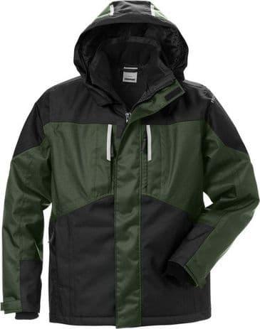 Fristads Airtech® Winter Jacket 4058 GTC (Army Green / Black)