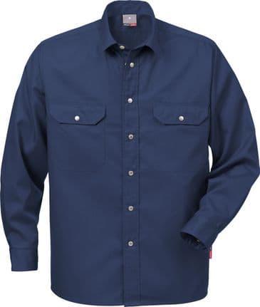 Fristads Cotton Shirt 720 BKS (Dark Navy)