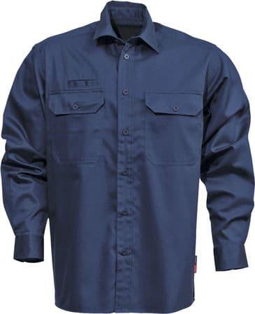 Fristads Cotton Shirt 7386 BKS (Dark Navy)