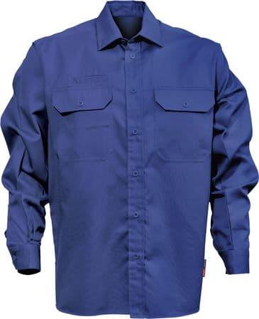 Fristads Cotton Shirt 7386 BKS (Royal Blue)