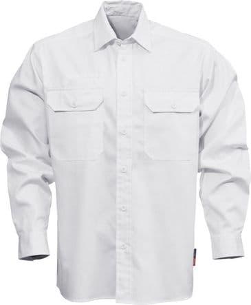 Fristads Cotton Shirt 7386 BKS (White)