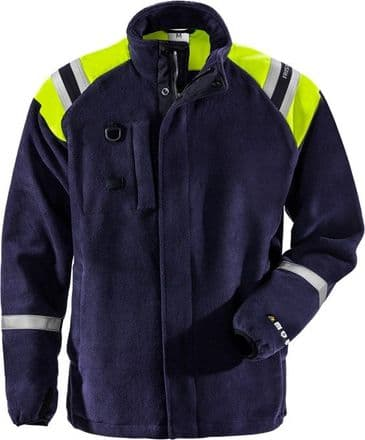 Fristads Flamestat Fleece Jacket 4073 ATF (Dark Navy)