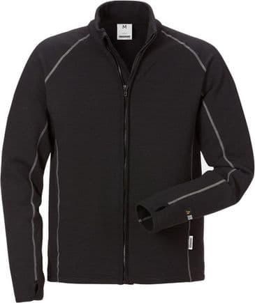 Fristads Flamestat Fleece Jacket 7044 MFR (Black)