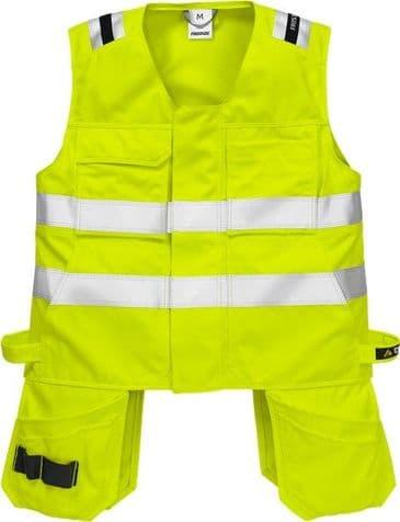 Fristads Flamestat High Vis Waistcoat CL 2 5075 ATHS (Hi Vis Yellow)