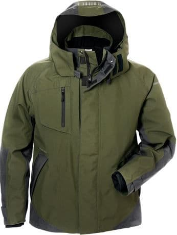 Fristads GORE-TEX Waterproof Shell Jacket 4998 GXB (Army Green / Grey)