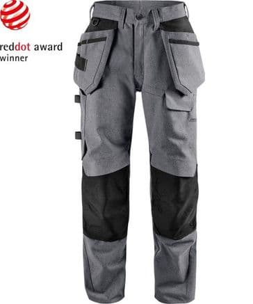 Fristads Green Craftsman Trousers 2538 GRN (Grey/Black)
