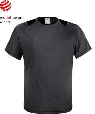 Fristads Green T-shirt 7520 GRK (Grey / Black)
