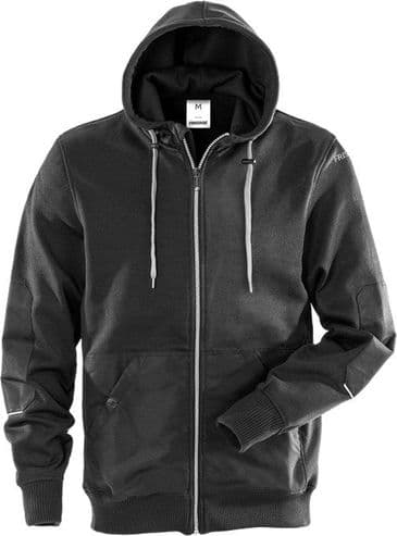Fristads Hooded Sweat Jacket 7783 LYS (Black)