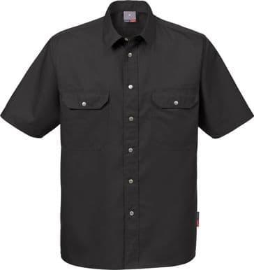 Fristads Short Sleeve Shirt 721 B60 (Black)