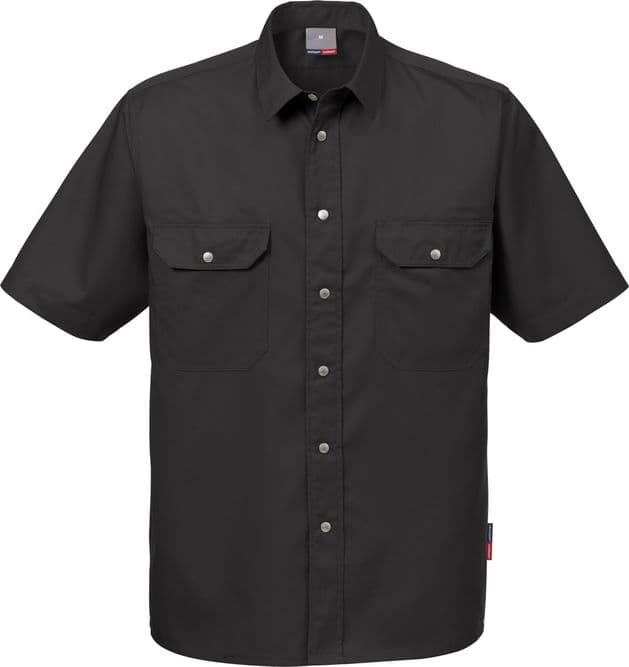 Fristads Short Sleeve Shirt 721 B60 (Black)