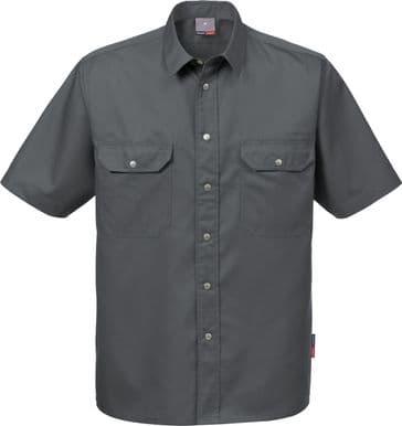 Fristads Short Sleeve Shirt 721 B60 (Dark Grey)