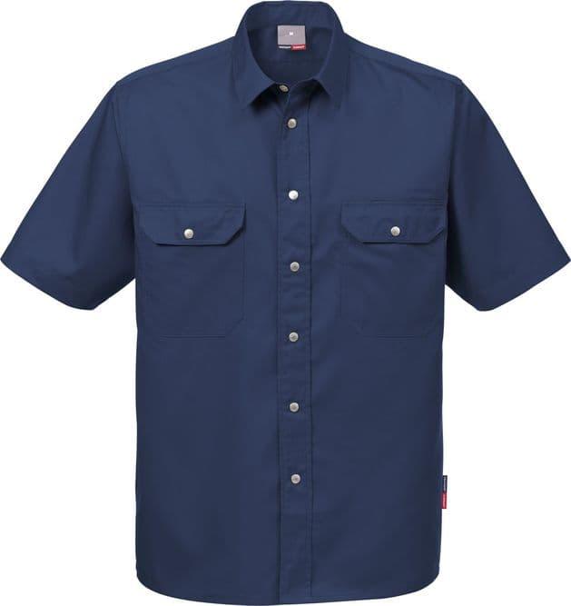 Fristads Short Sleeve Shirt 721 B60 (Dark Navy)