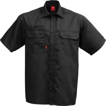 Fristads Short Sleeve Shirt 7387 B60 (Black)