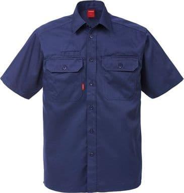 Fristads Short Sleeve Shirt 7387 B60 (Dark Navy)