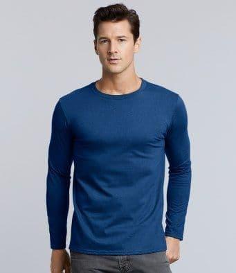 Gildan Softstyle Long Sleeve Ringspun T-Shirt GD011
