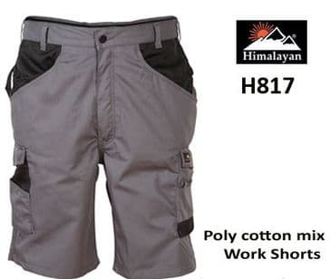 Himalayan ICON Work Shorts (Grey H817)