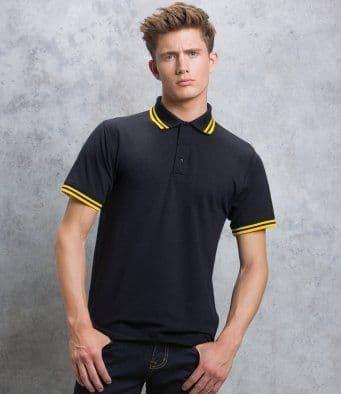 Kustom Kit Tipped Collar Polo KK409