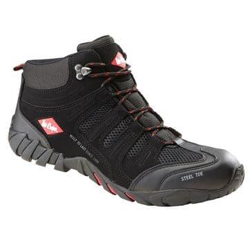 Lee Cooper LCSHOE020C Safety Work Boot (Black)