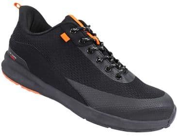 Lee Cooper LCSHOE143 Lightweight Safety Trainer Shoe (Black)