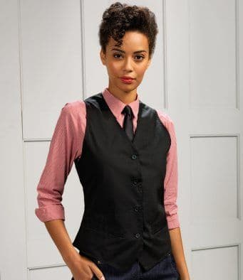 Premier PR621 Ladies Hospitality Waistcoat