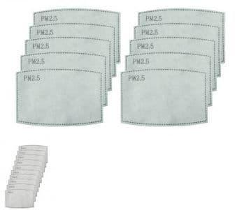 Premier PR797 PM2.5 Activated Carbon Mask Filter (PK-10)