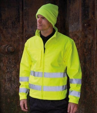 Result | Core High-Visibility Winter Blouson EN471 Class 3 R117A | High Visibility Jacket