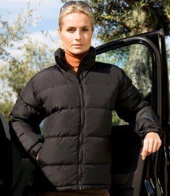 Result Urban Ladies Holkham Down Feel Jacket RS181F