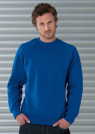 Russell 762M Raglan Sweatshirt