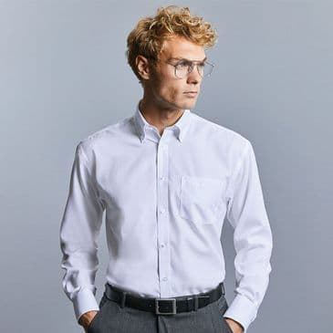 Russell 956M Long Sleeve Ultimate Non-Iron Shirt