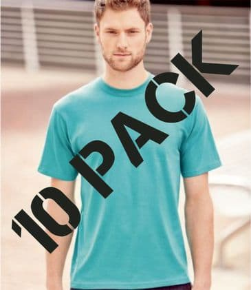 Russell Classic Ringspun T-Shirt 180M (10 PACK)