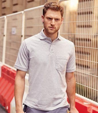 Russell Heavy Duty Cotton Work Polo Shirt