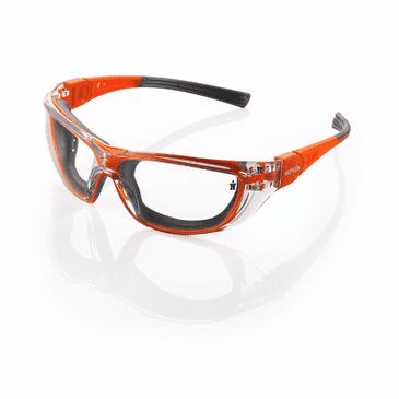 Scruffs Falcon Safety Specs (Orange and Grey)