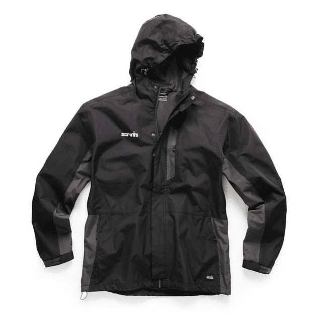 Scruffs Worker Waterproof Jacket (Black / Graphite)