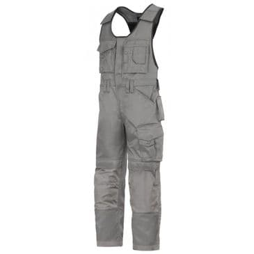 Snickers 0312 Duratwill Craftsmen One-Piece Trousers (Grey / Grey)