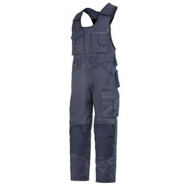 Snickers 0312 Duratwill Craftsmen One-Piece Trousers (Navy / Navy)