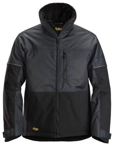 Snickers 1148 AllroundWork Winter Jacket (Steel Grey/Black)